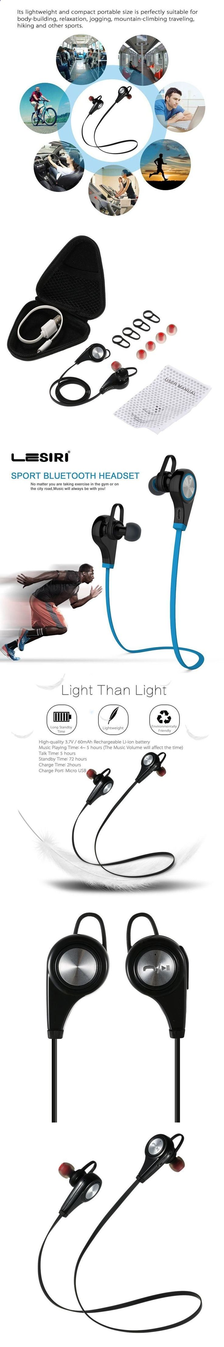 Sports Headphones - Bluetooth Earphone Wireless Sports Headphones In ear Headset Running Music Stereo Earbuds Handsfree with Mic for Smartphones - If you usually go out to run, walk or any other sport in which you usually carry music to accompany or motivate you, we have selected 13 models of sports headphones that we consider among the best in the market for different aspects, from comfort to use to design, sound quality or value for money, so that you find variety and can adjust the ...