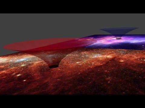 Milky Way Galaxy 'is a massive wormhole' - Galactic wormhole