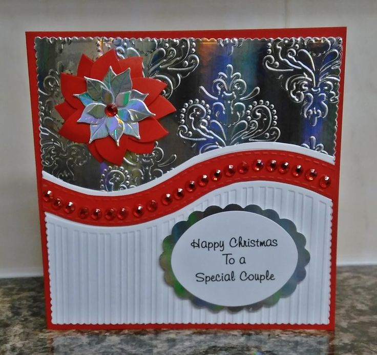 Made using a free All-Occasions Embossing folder from Papercraft Essentials magazine Issue 122