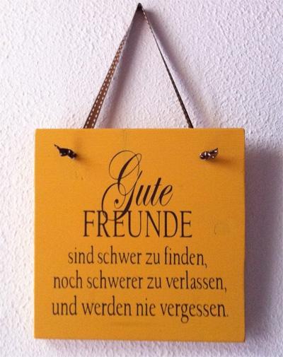 Good friends...in German.