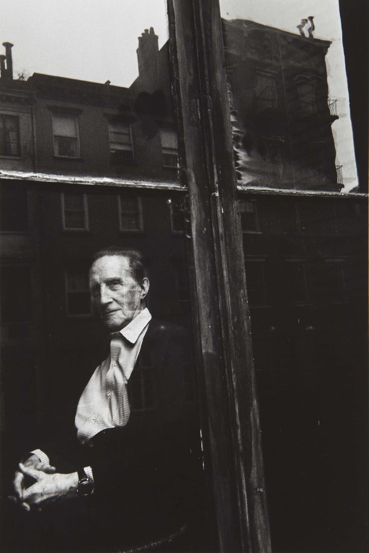 Marcel Duchamp   by Duane Michals, New York, ca1964