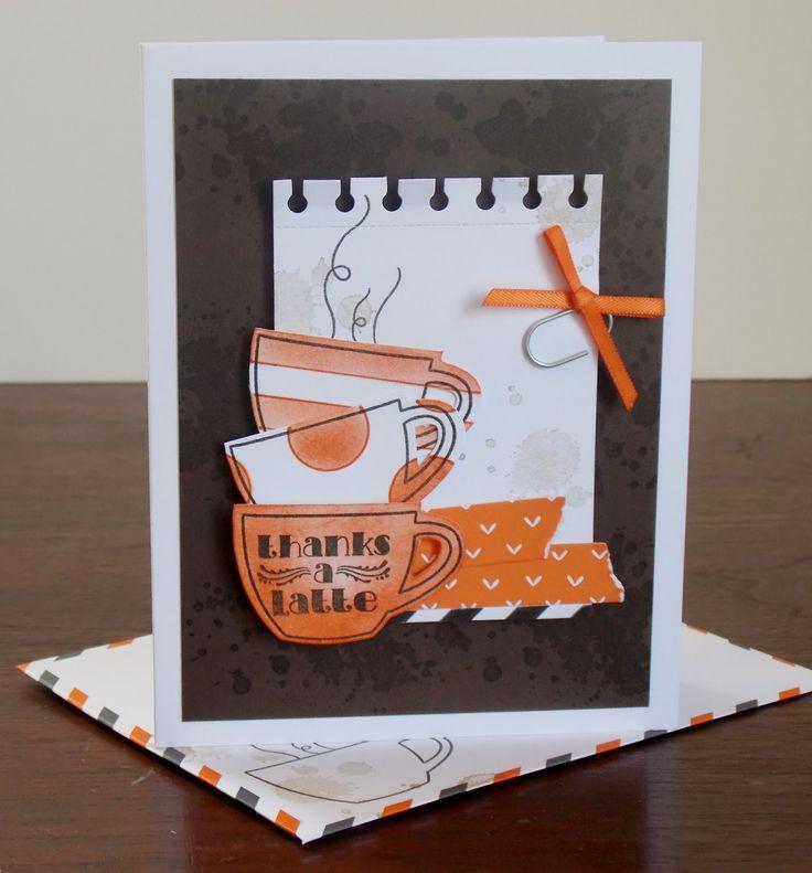 Самодельные открытки с кофе, дню