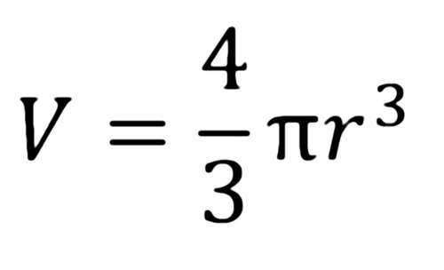 Formula for Volume of a Sphere was found by Archimedes. Archimedes found after several experiments that the volume of a sphere and also its surface area is exactly [(2)/(3)] rd of the volume and the surface area of a cylinder with the same outer dimensions.