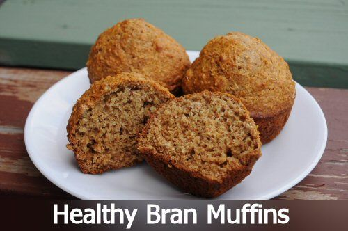 These Healthy Bran Muffins are so yummy, and you don't have to feel guilty about eating them!