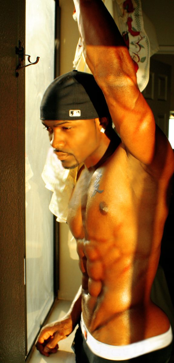 Dear GOD, I don't know this man, but thank you for allowing my eyes to take in the vision that is his body!