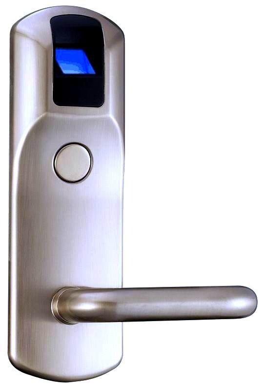fechadura biométrica e cartão rfi eletrônica - lançamento