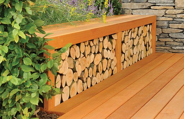 Stored logs will be kept under the reclaimed railway sleeper sitting beams, for use in the Kitchen open fire