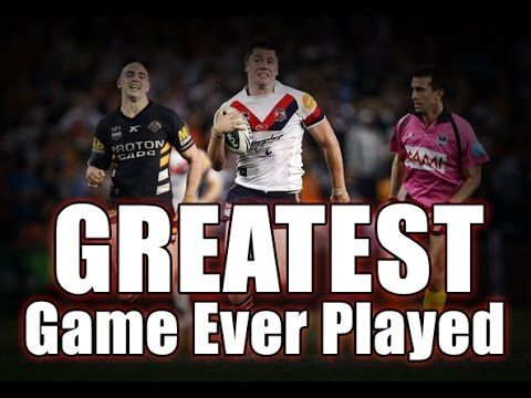 the 2010 qualifying final Sydney Roosters vs Wests Tigers is regarded by many to be the greatest game of rugby league ever..it had it all, great defense, high …   source   ...Read More