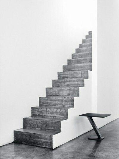 Concrete & white