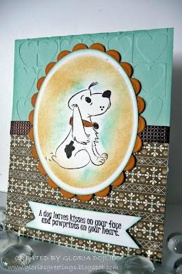 Pet Sympathy Card  Gloria Sousa-Dojlido onto CARDS BY ME