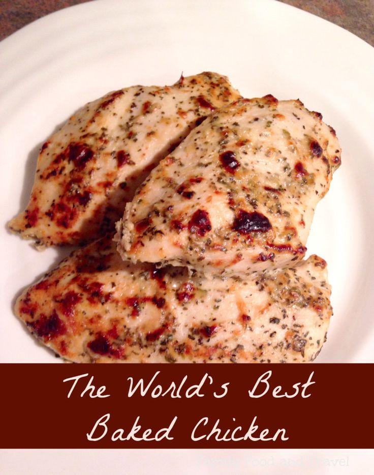Best Baked #Chicken #Recipe via @FamilyFoodandTravel