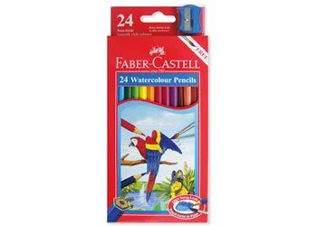 Faber Castell Watercolour Pencils – Pack 24