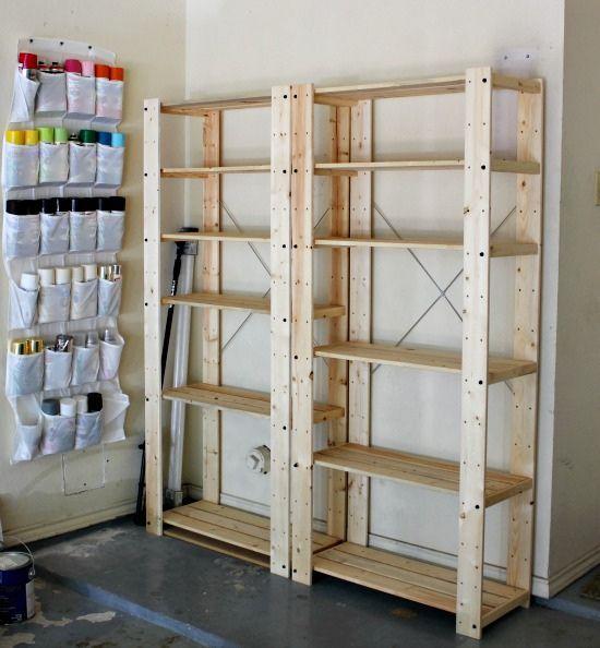 Hi Sugarplum | Organized Garage by hi sugarplum!, via Flickr - organize spray paint in a hanging shoe organizer