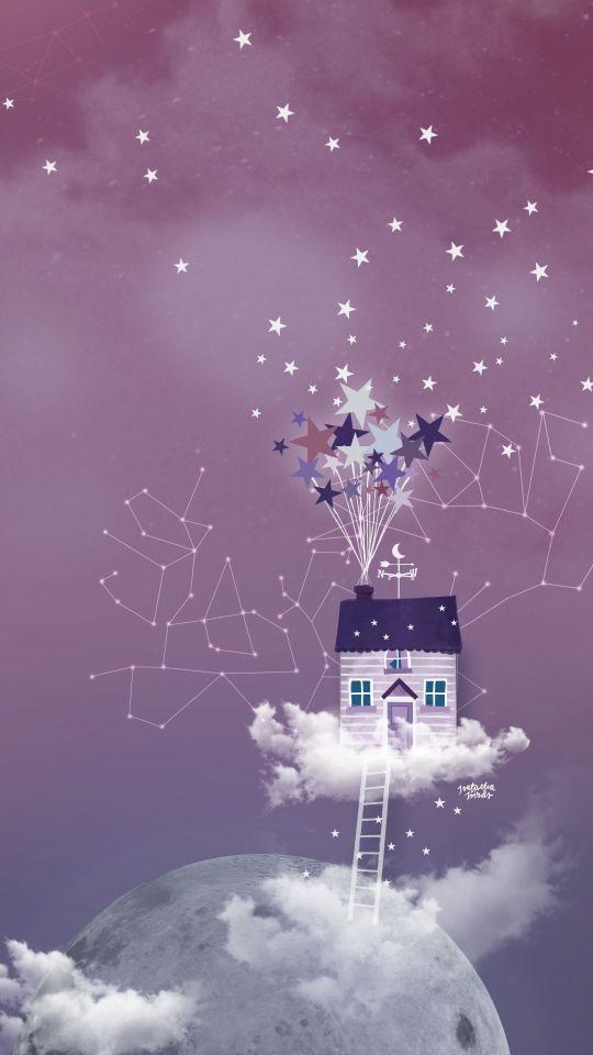 Aujourd'hui un nouveau fond d'écran inspiré par le dessin animé «Là-haut», une maison qui vole grâce à des centaines de petites étoiles parachutes qui la soulève pour atterrir quelque part sur la lune et vivre entre les nuages et les constellations ! J'espère que cette illustration vous plaira et qu'elle vous accompagnera cette …
