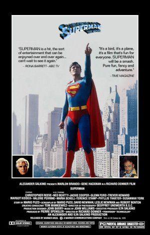 Superman: The movie (1978) movie poster