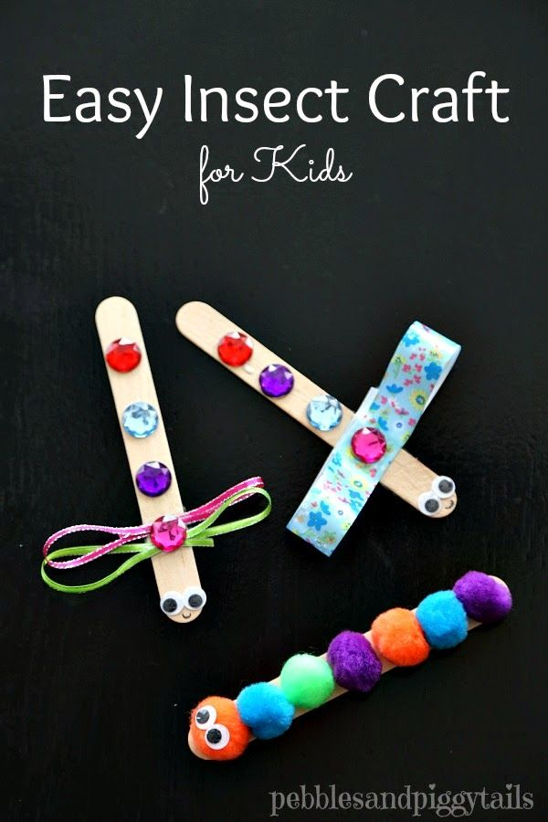 Making Life Blissful: Easy Insect Craft for Kids to Make at JAM