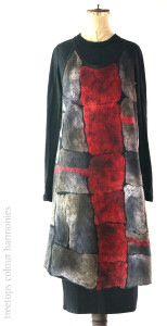 Nancy Ballesteros silk hanky apron
