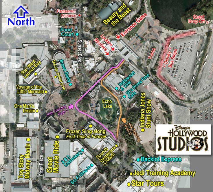 Jedi Training paths Hollywood Studios by Robo