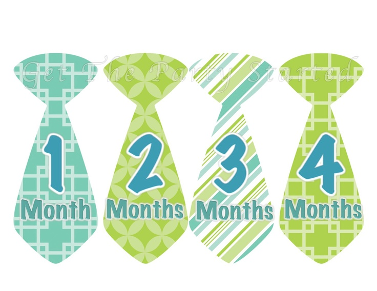 Baby Month Stickers Baby Boy Monthly Onesie Stickers Blue Green Teal Argyle Preppy Tie Month Stickers Baby Shower Gift Photo Prop George