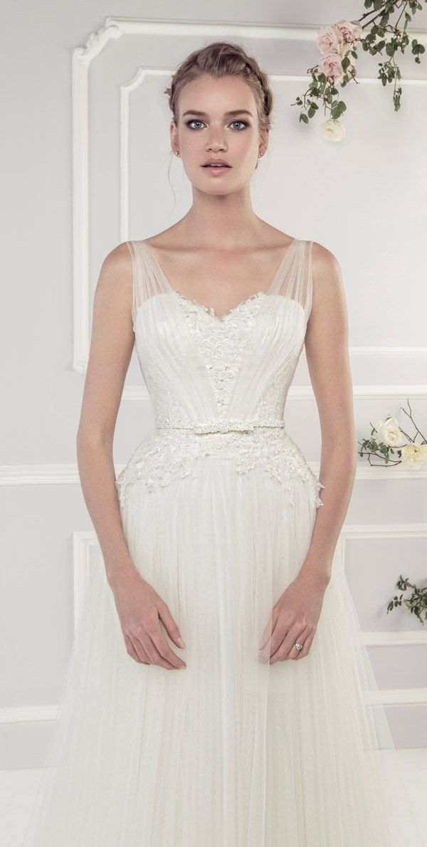 Ellis Bridals Rose wedding dresses collection 2015 | #Wedding #dress 19052 http://everybrideswedding.weebly.com/