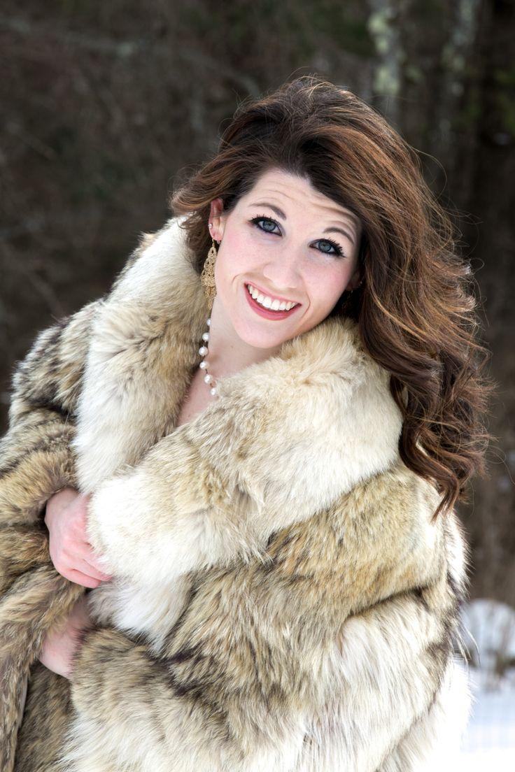 Wolf Fur Coat >> Winter photo shoot- Outdoor Fur Self Portrait | Portraits | Pinterest | Photos, Outdoor and Portrait
