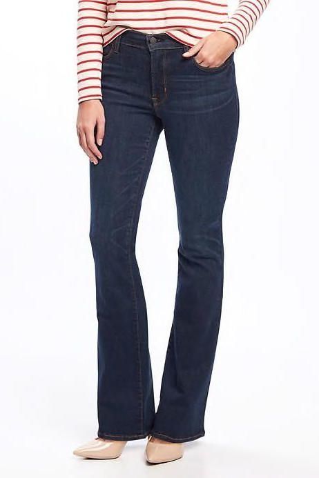 Flare Jeans - 10 Trendy Summer Pieces You Should Buy at Old Navy  - Southernliving. Mid-Rise Micro-Flare Rockstar Jeans: $49.94, oldnavy.com