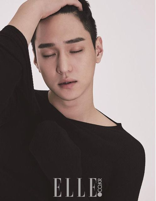 Go Kyung Pyo Is Mr Masterpiece For October Elle | Couch Kimchi