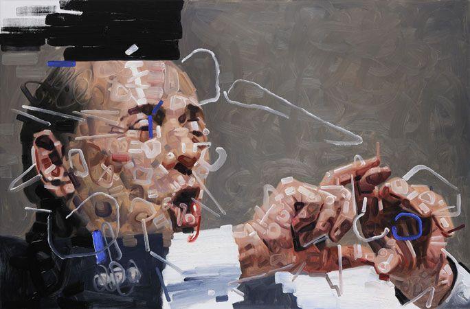 Wainer Vaccari, no title. Berlusconi era