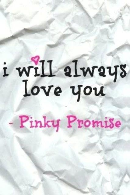 No matter what, Pinkie Swear ;)