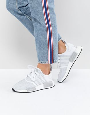 purchase cheap 99073 38c0d adidas Originals NMD R1 Sneakers In White | Asos | Adidas ...