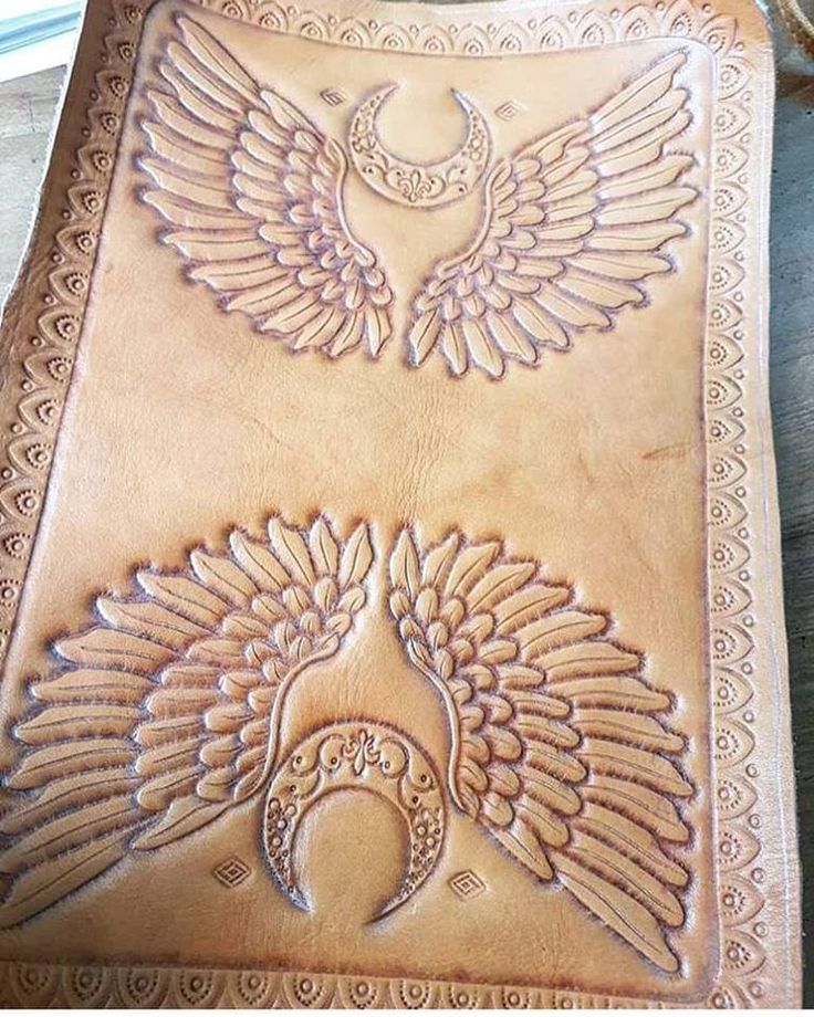 We have been working on some beautiful new designs and are excited that are new Angel Wings wallet will be arriving soon 💜    #angelwings #leatherwallet #newdesigns #mahiya #leatherwork