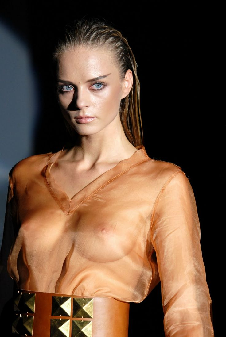 Catwalk See Thru,Oops,Topless,Runway Models Nipple Slip Hq -7009