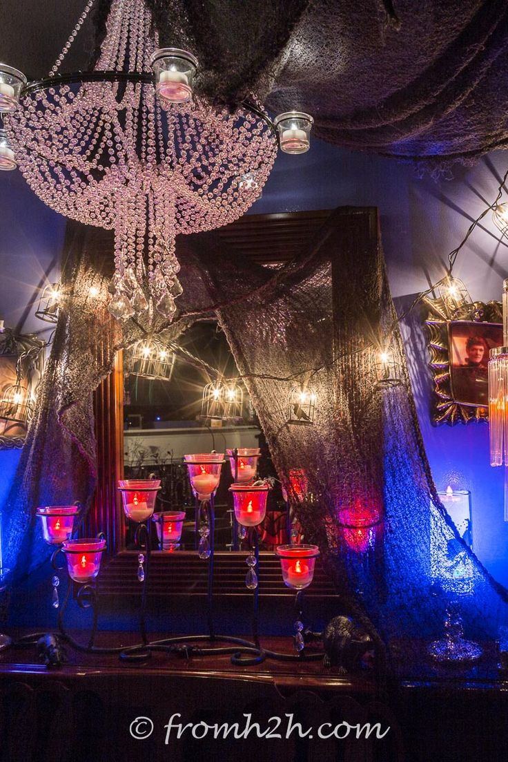 7 ways to decorate with fake spider webs halloween haunted party ideashappy