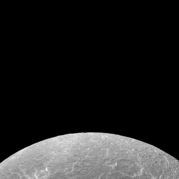 Dione dwarfing Rhea