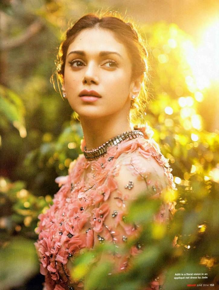Aditi Rao Hydari Radiant in JADE's collection INNANA gown featuring in the June issue of HELLO! India #JADE #Innana #JADEbyMK