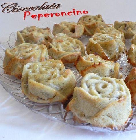 muffin gorgonzola e noci