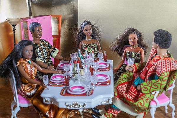 Barbie & Ken's Traditional Nigerian Wedding...I LOVE THIS!