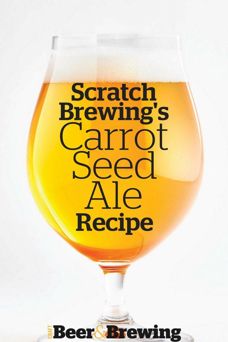 Scratch Brewing's Carrot Seed Ale Recipe
