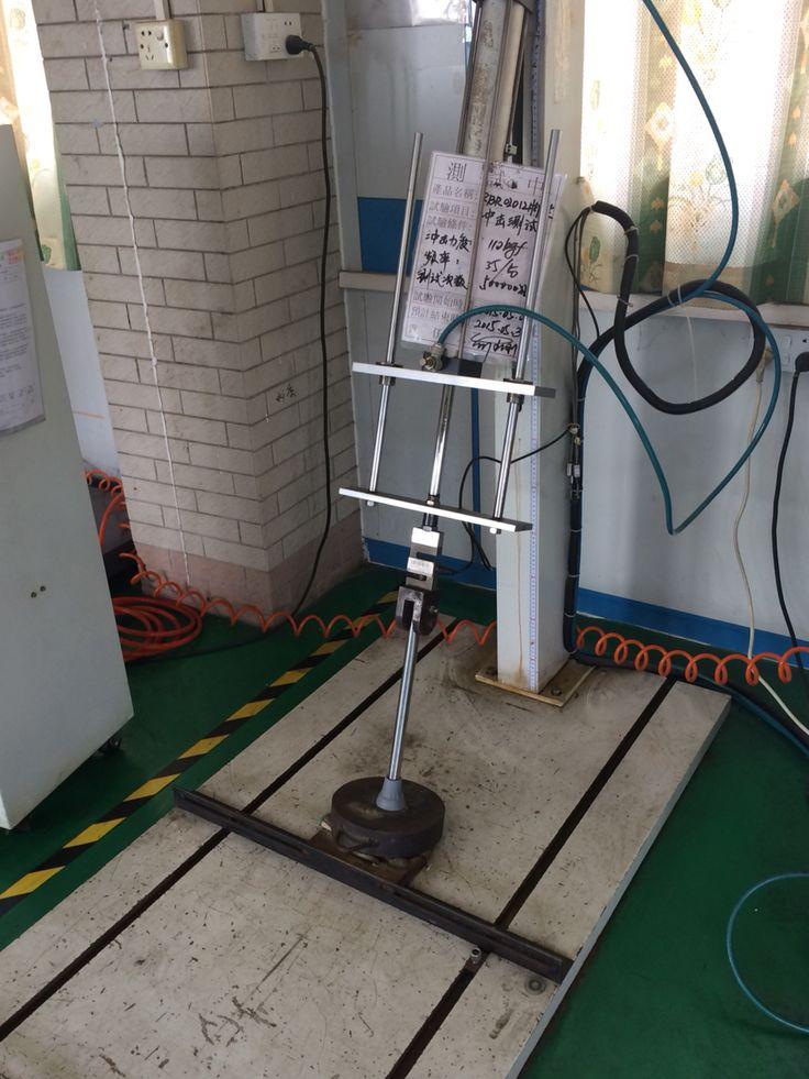 Testing on crutches