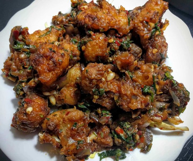 Gobi Manchurian (Dry Cauliflower Manchurian) Recipe – VegeCravings