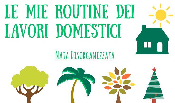 routine dei lavori domestici