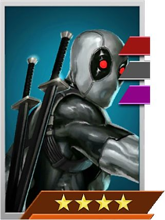 """#Deadpool #Fan #Art. (Deadpool (Uncanny X-Force) In: Marvel Puzzle Quest!) By: AMADEUS CHO! (THE * 5 * STÅR * ÅWARD * OF: * AW YEAH, IT'S MAJOR ÅWESOMENESS!!!™)[THANK Ü 4 PINNING<·><]<©>ÅÅÅ+(OB4E)(IT'S THE MOST ADDICTING GAME ON THE PLANET, YOU HAVE BEEN WARNED!!!)(YOU WANT TO FIND THE REST OF THE CHARACTERS, SIMPLY TAP THE """"URL"""" HERE:  https://www.pinterest.com/ezseek/puzzle-quest-art/ (THANK YOU FOR DOING ALL YOUR PINNING AT: HERO WORLD!)"""