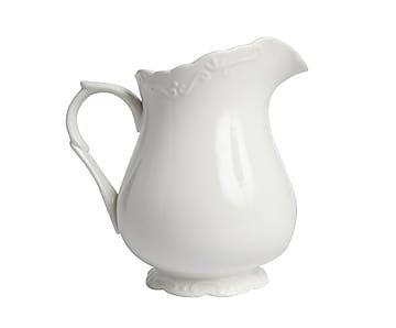 Кувшин для молока - фарфор - белый - В18
