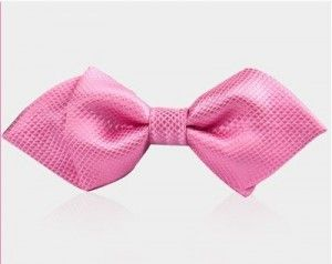 bow tie pink 1059