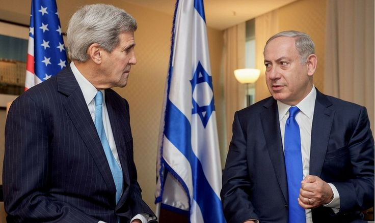 One last slap - Kerry says 'Israel can either be Jewish or Democratic - it cannot be both.' And he is running the state department - would he say 'Saudi Arabia can either be a dictatorship or islamic - it cannot be both.' No, he wouldn't dare. (12/28/16)