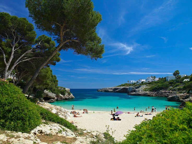 Cala Esmeralda beach Majorca