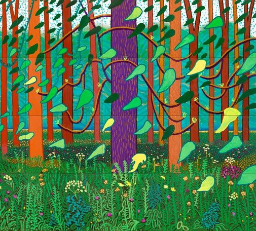 David Hockney Landscapes | Hockney, David                                                                                                                                                                                 More