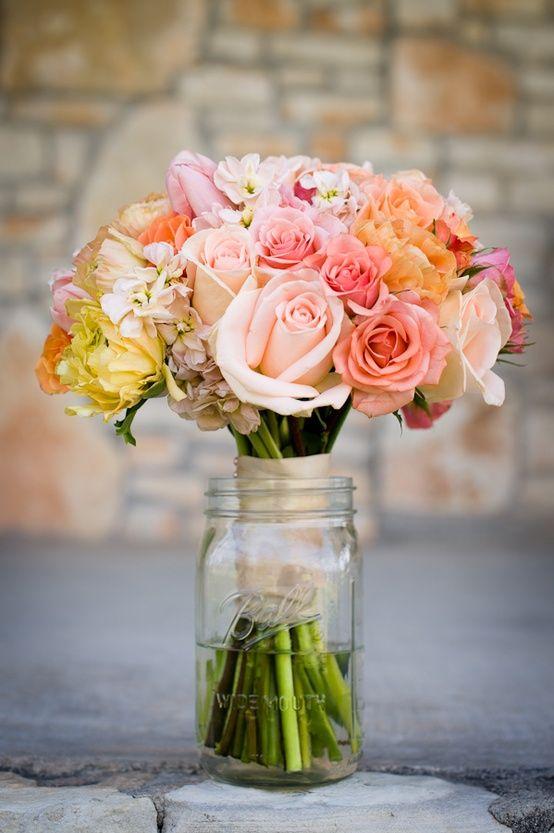 17 Best Images About Mason Jar Flower Arrangement Ideas On