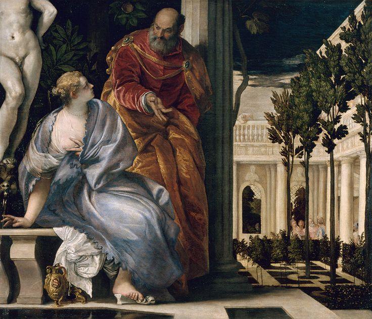 Paul Véronaise, Bethsabée au bain (1575)