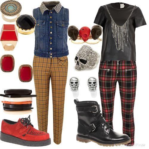 Rocker Fashion Male